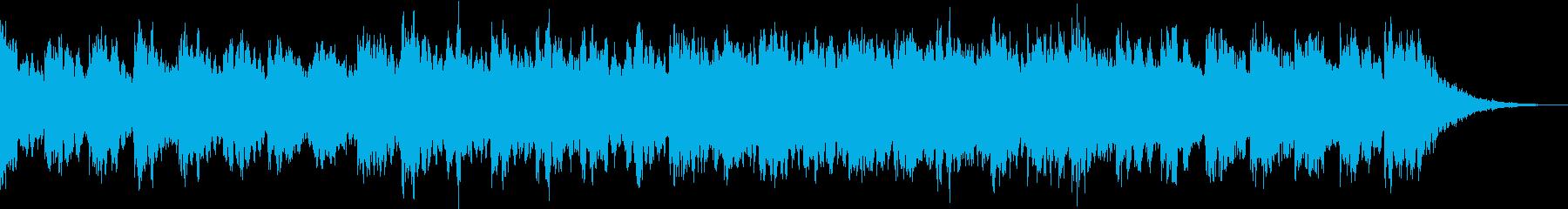 清々しいアンビエントなエレクトロの再生済みの波形