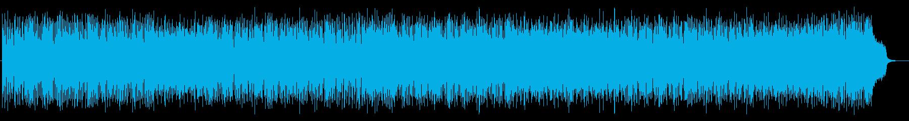 豪華な雰囲気のシンセポップスの再生済みの波形