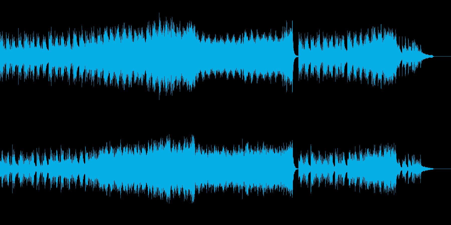 穏やかな優しい曲です。の再生済みの波形