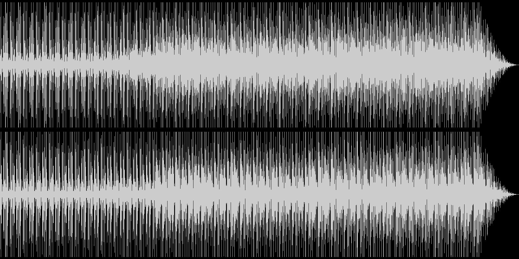 主にトーク、会話の背景用BGMの未再生の波形