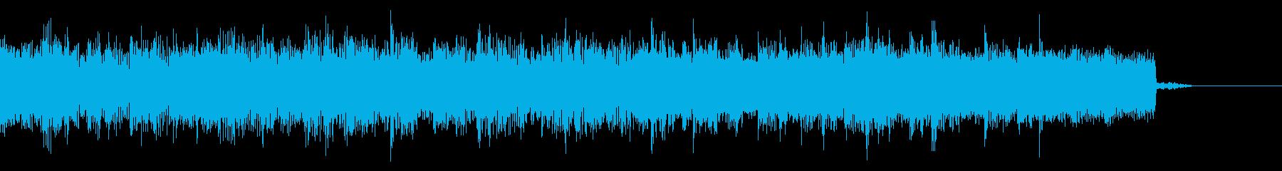 メタル系の場面転換 HR/HM系ジングルの再生済みの波形