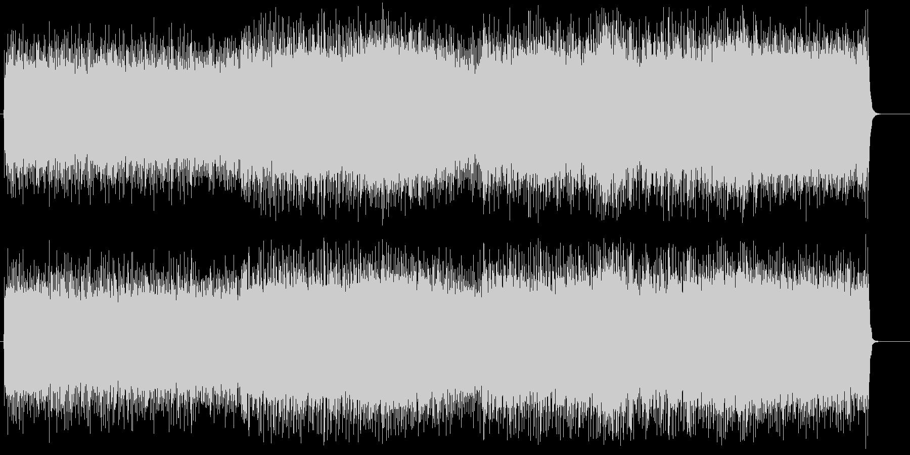 ヘヴィーでダークサイドなメタルサウンドの未再生の波形