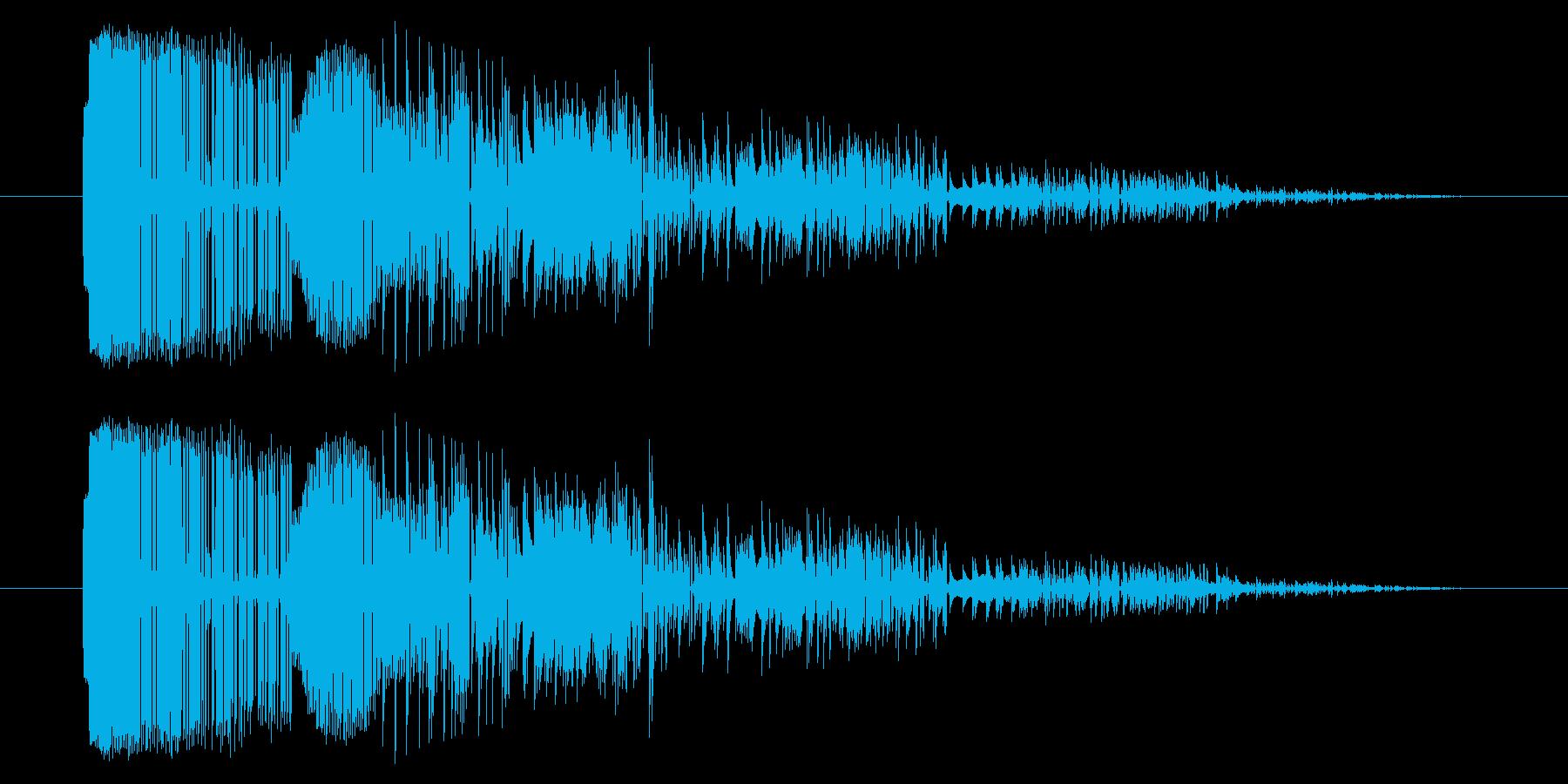 GB シューティング01-06(ミス)の再生済みの波形