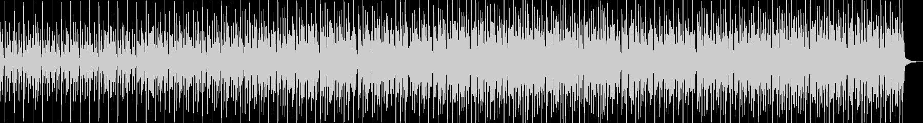 柔らかいシンセハウスの未再生の波形