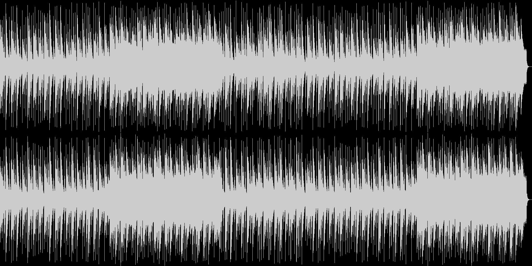 優しい琴の和風BGMの未再生の波形