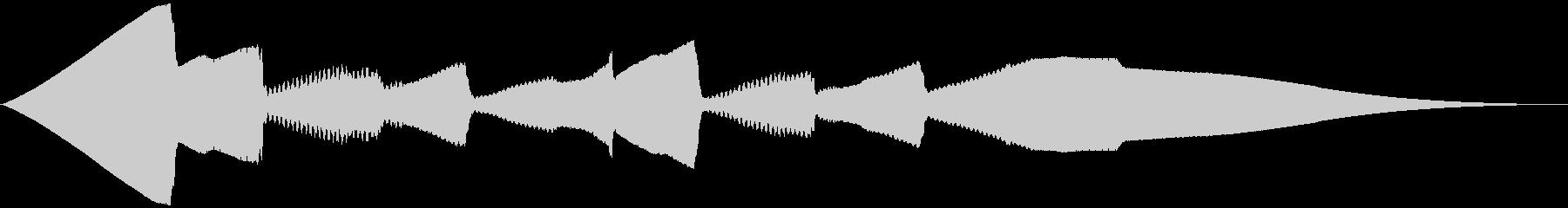 5秒CM用、ほのぼの家族verBの未再生の波形
