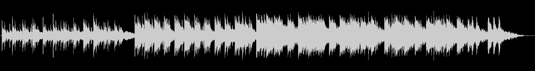 ピアノとアコギによる切ないバラードの未再生の波形