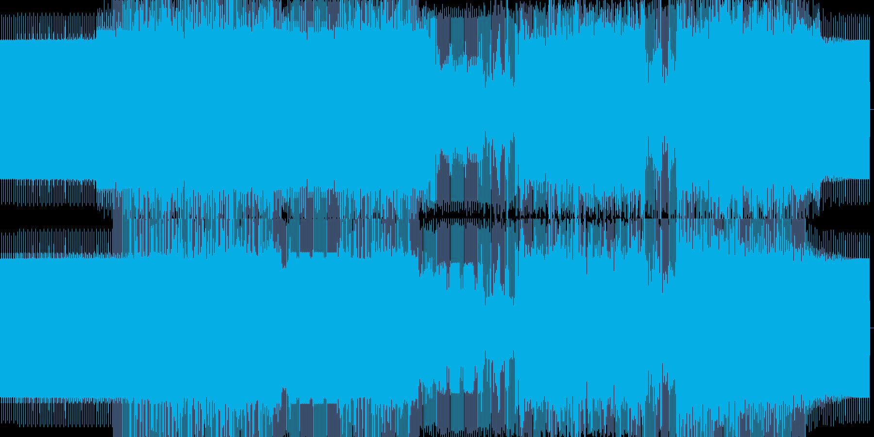 奇麗な音のミニマルハウスの再生済みの波形