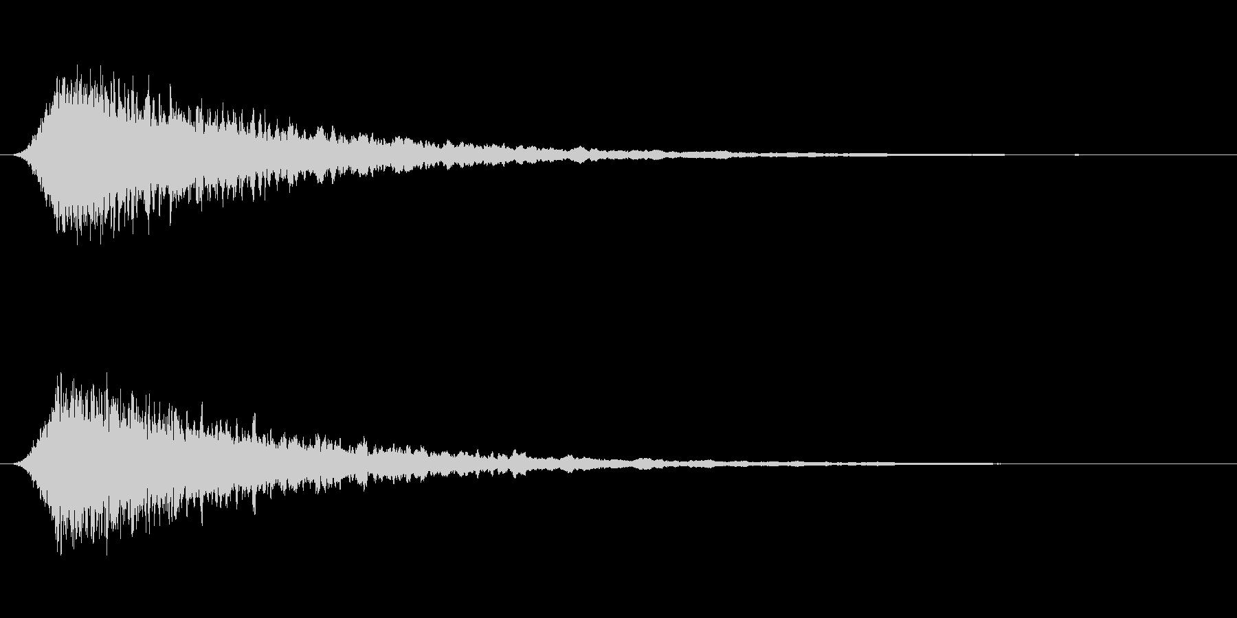 汎用サイレン 短めの未再生の波形