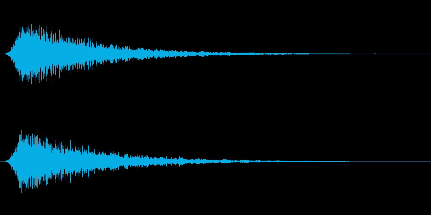 汎用サイレン 短めの再生済みの波形