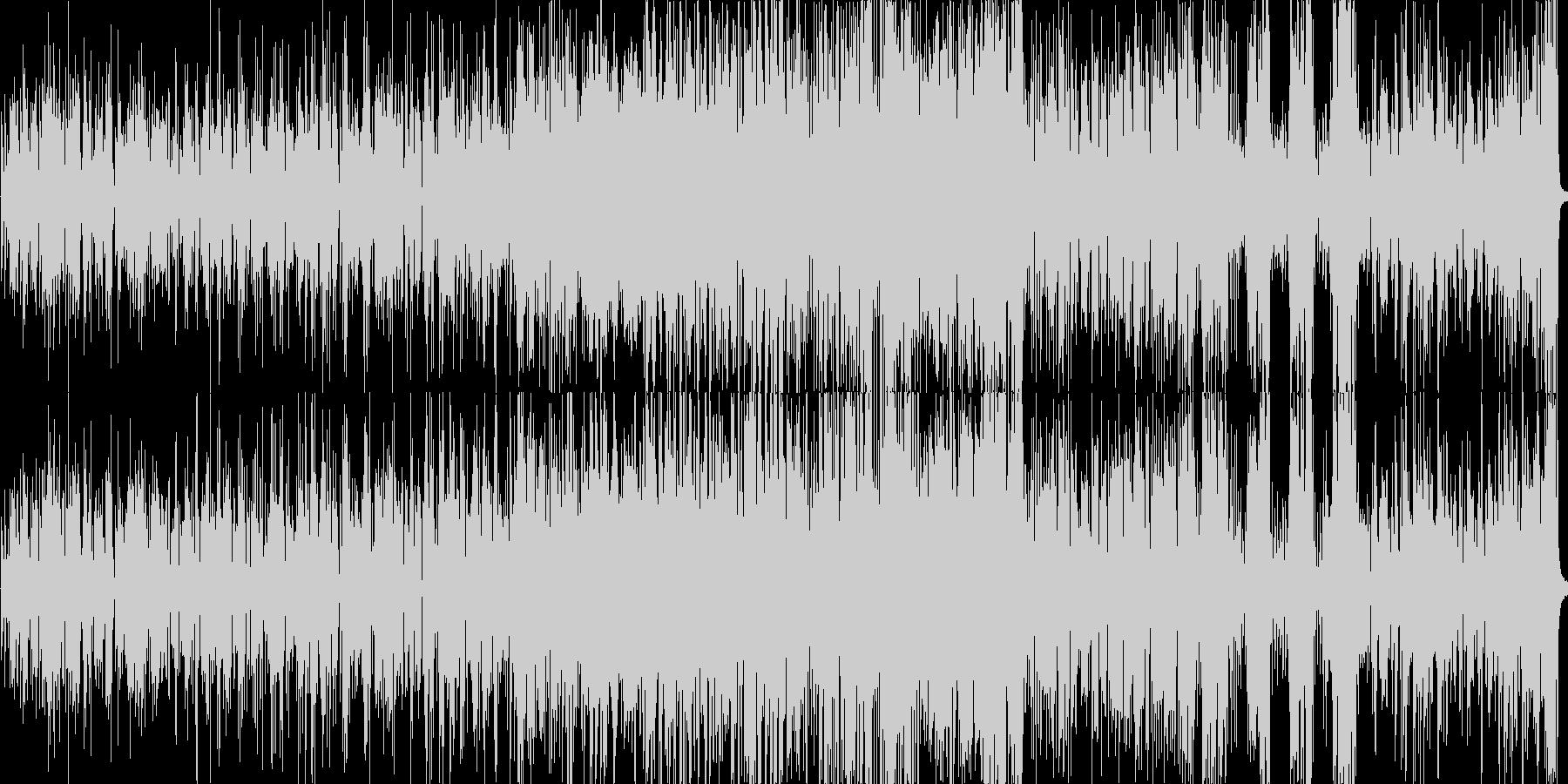 ガーシュウィンのスタンダードジャズの未再生の波形
