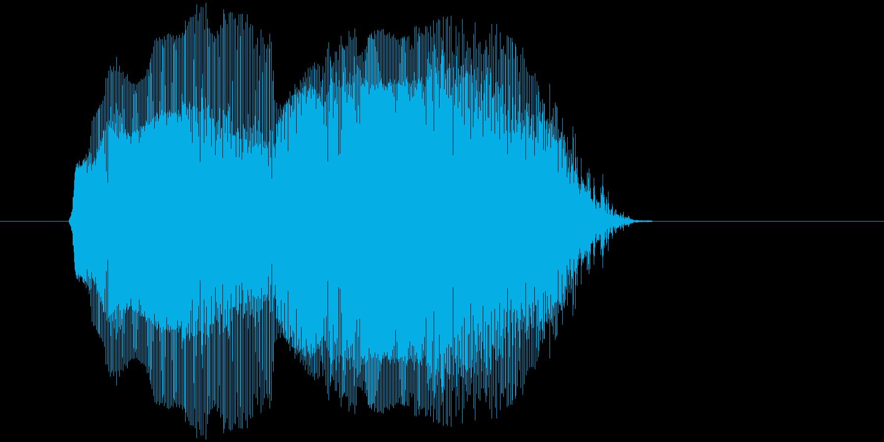 「ムニャムニャ」の再生済みの波形