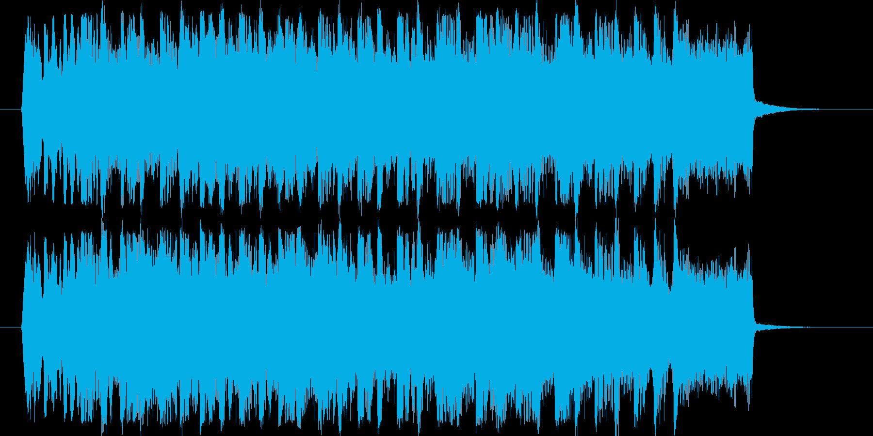 子供向けの短いBGMです。の再生済みの波形