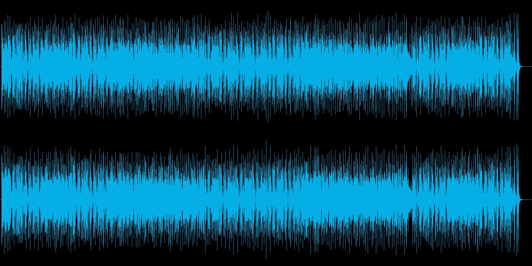 軽快でお洒落なジャズポップスの再生済みの波形