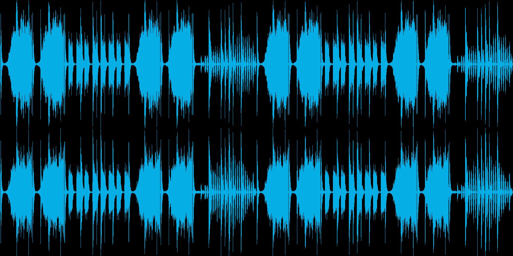 【落ち着いたチルアウト/エレクトロニカ】の再生済みの波形