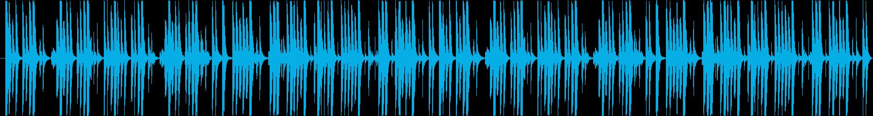 ゲームやアニメに適したほのぼのしたBGMの再生済みの波形