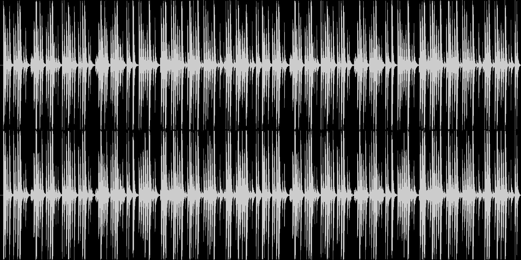 ゲームやアニメに適したほのぼのしたBGMの未再生の波形