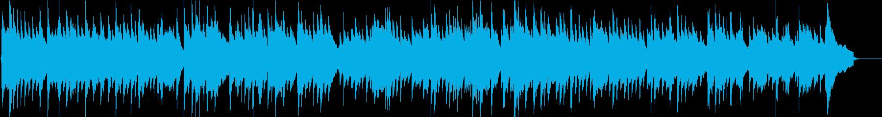 優しく切ないアコースティックギターソロ曲の再生済みの波形