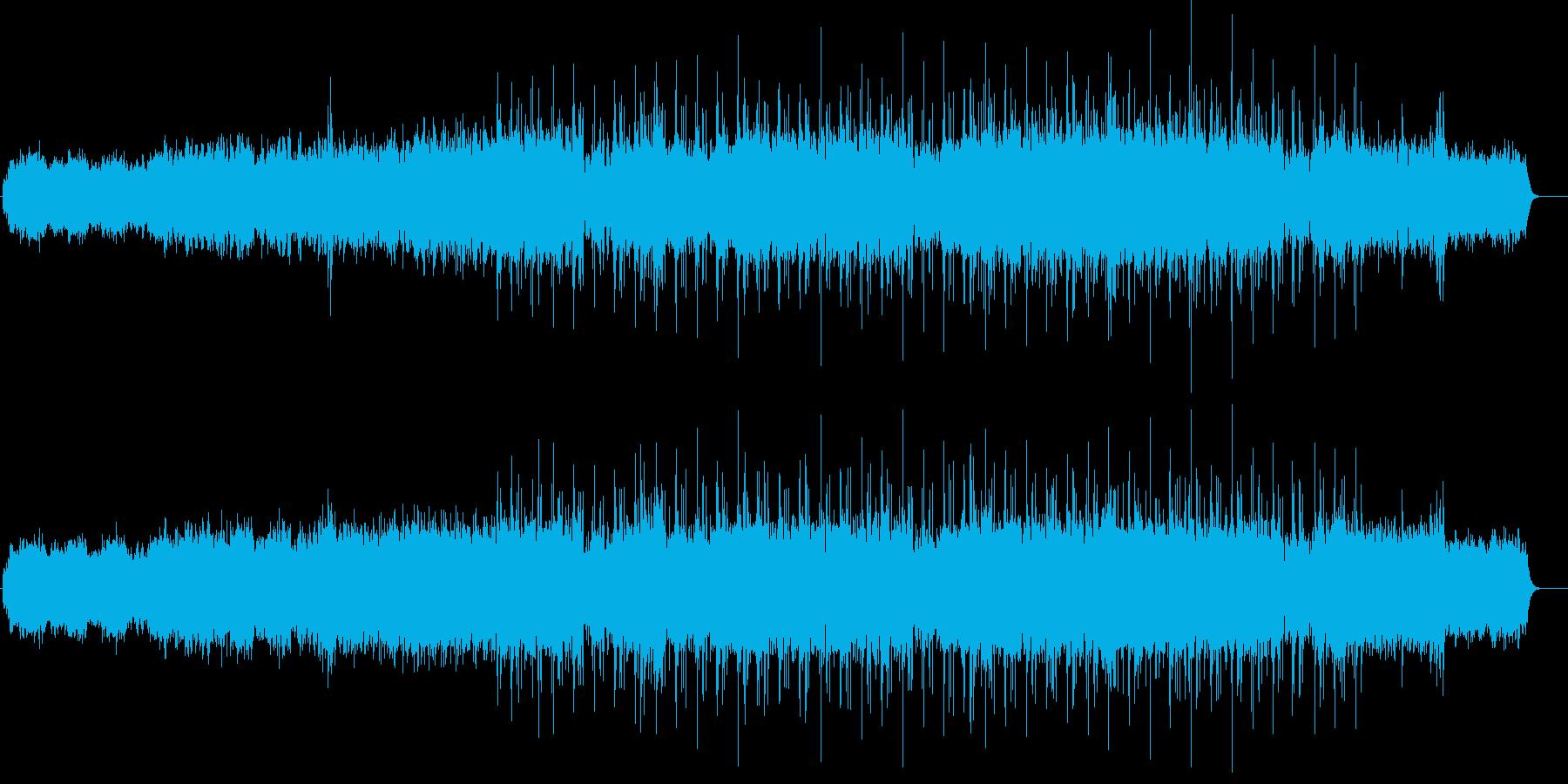 偏西風(ジェットストリーム)の再生済みの波形