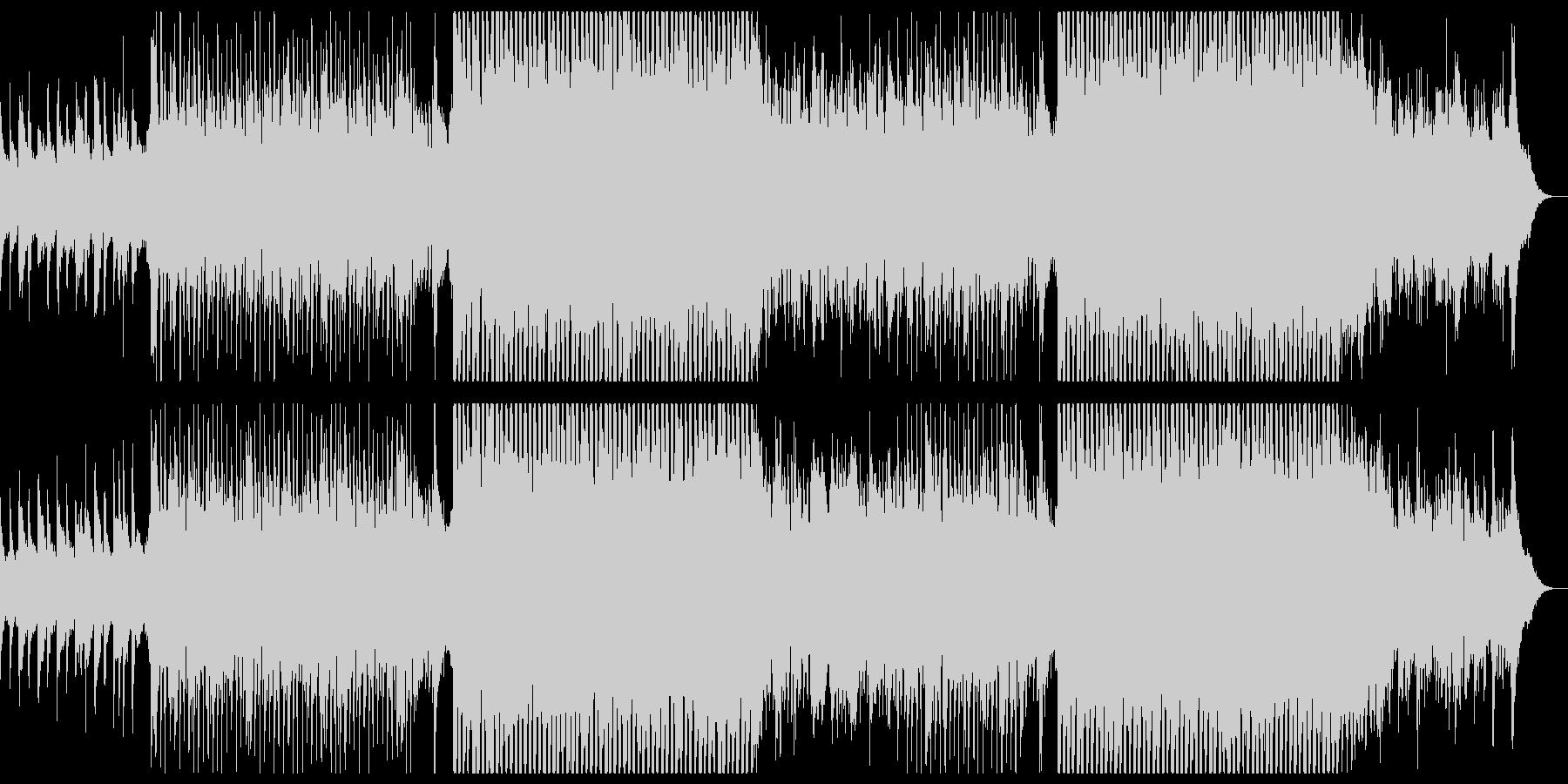 ギターの爽やかなチルポップ。の未再生の波形