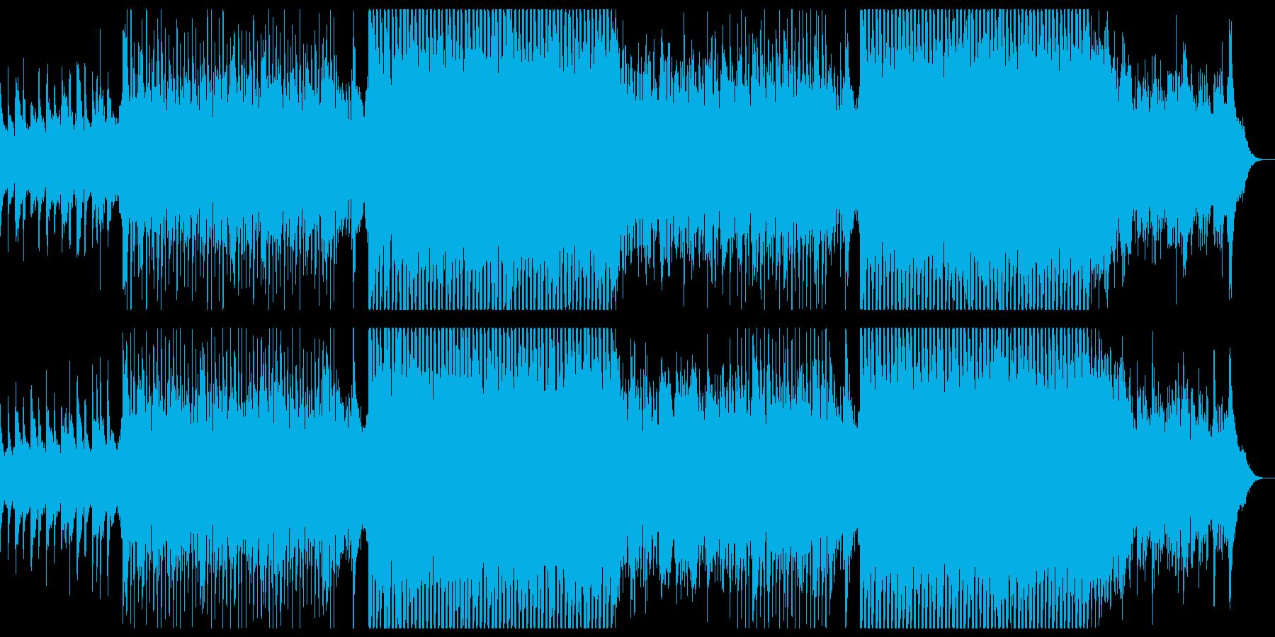 ギターの爽やかなチルポップ。の再生済みの波形