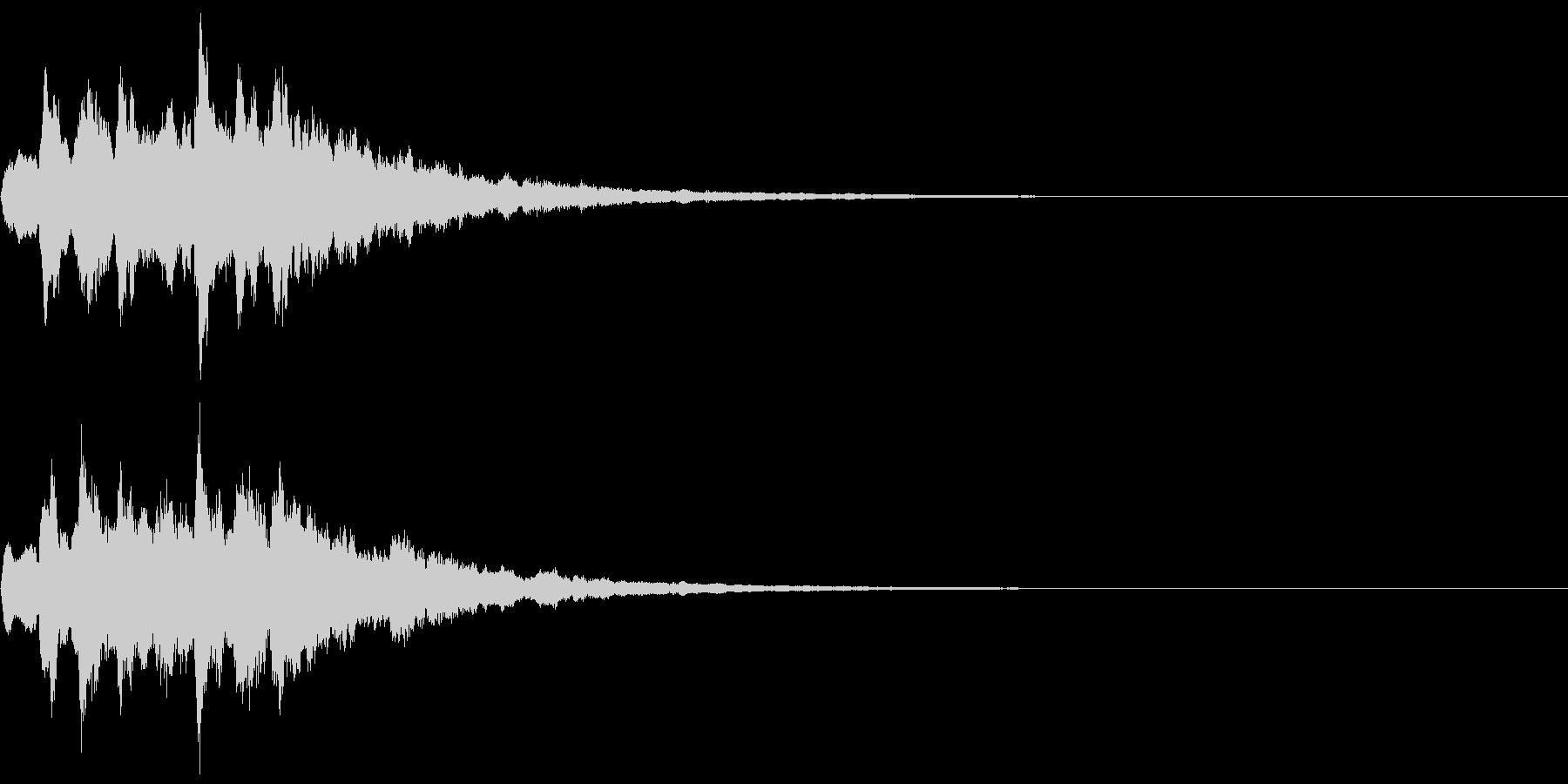 ベル 08(キララキララン)の未再生の波形