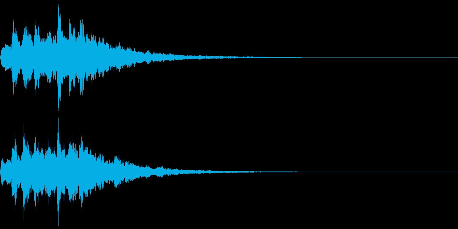 ベル 08(キララキララン)の再生済みの波形
