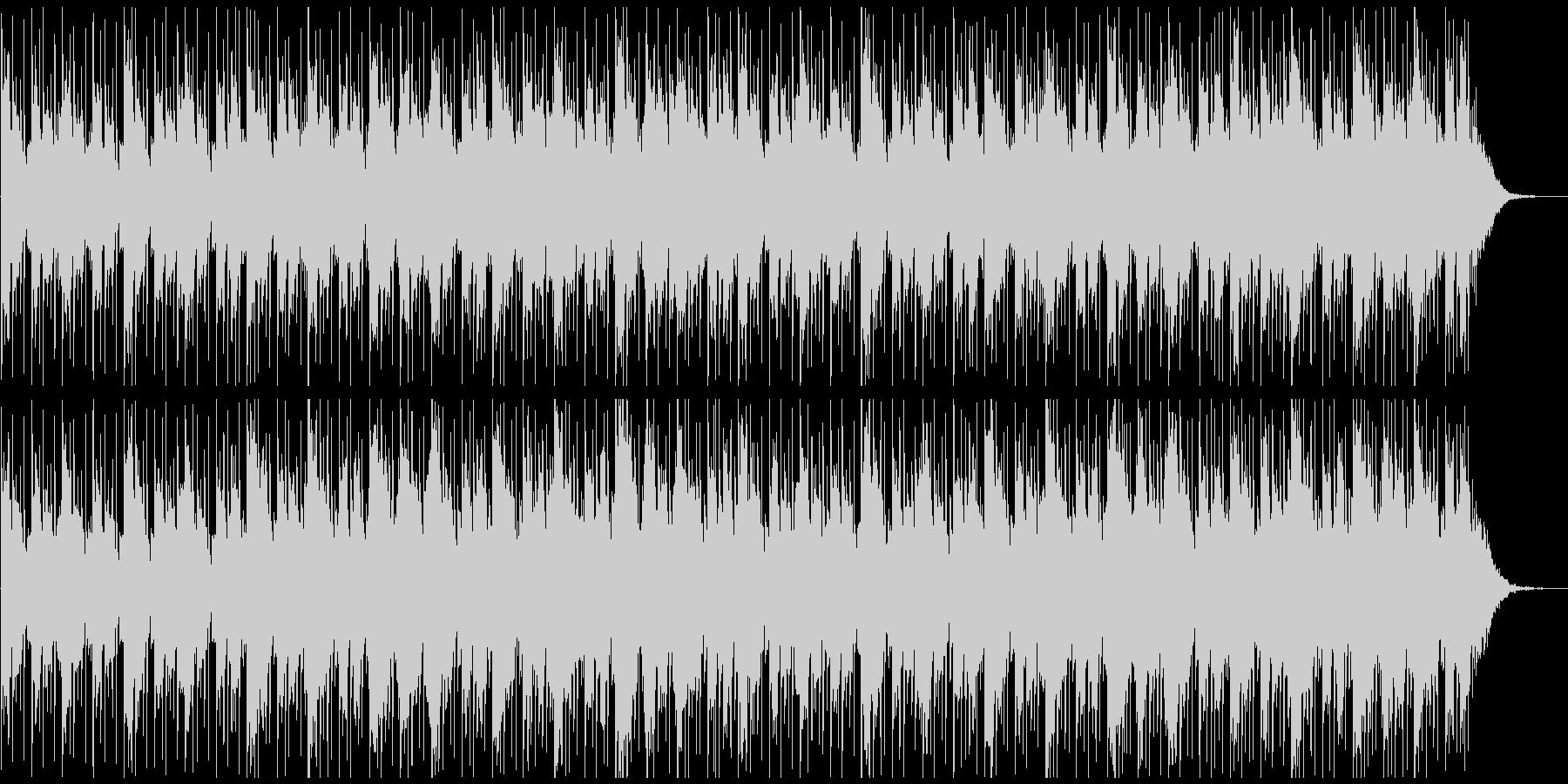 ニューエイジ系BGM(ブレイクなし)の未再生の波形