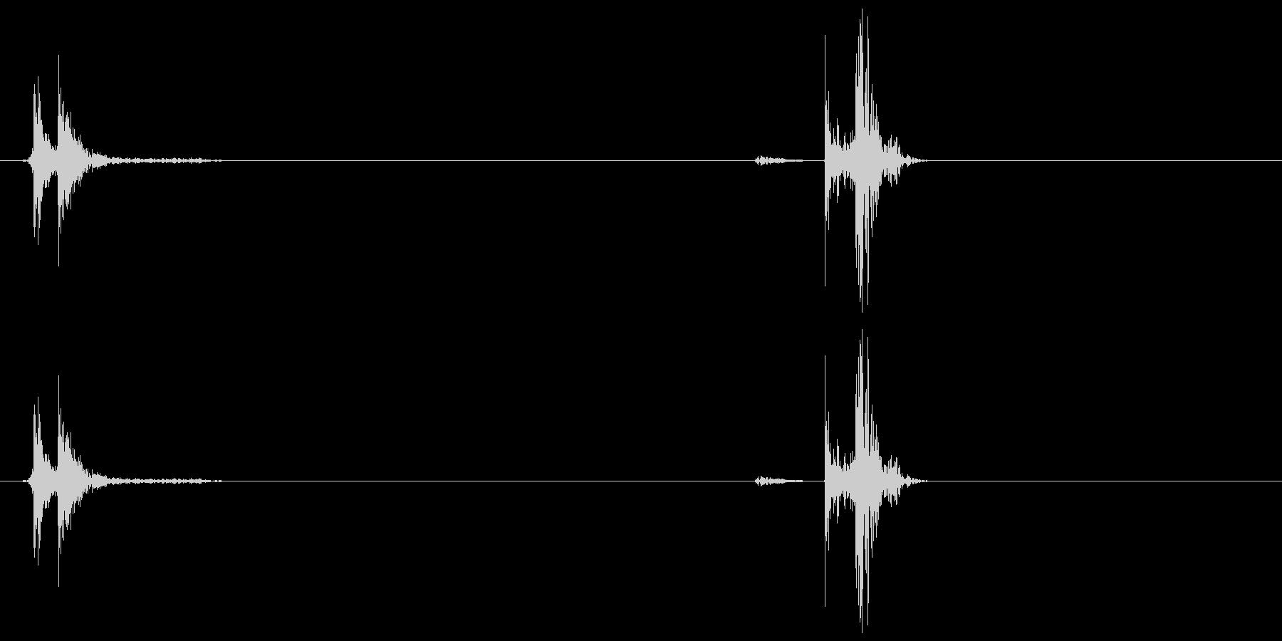 電子レンジドア開閉の未再生の波形