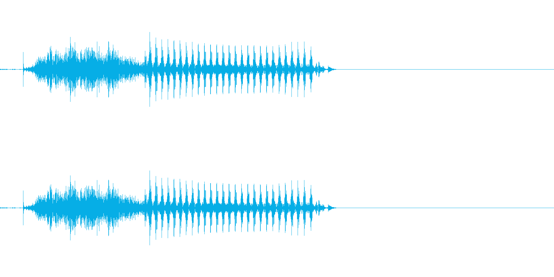 ツゥ 七(7) 中国語(北京語) 男の再生済みの波形