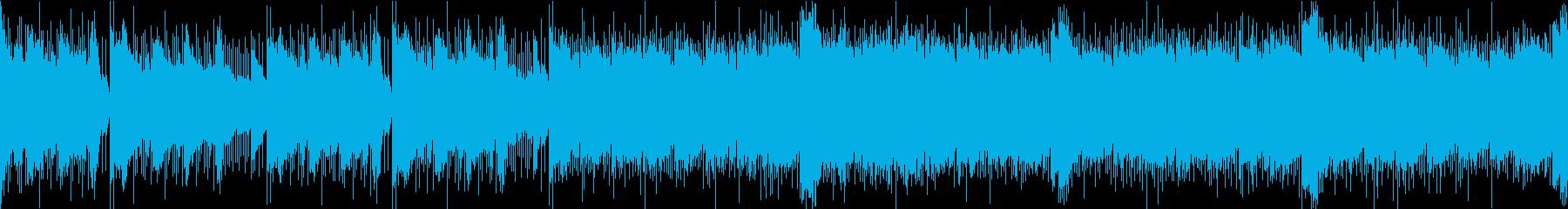 RPGの一般バトルミュージックの再生済みの波形