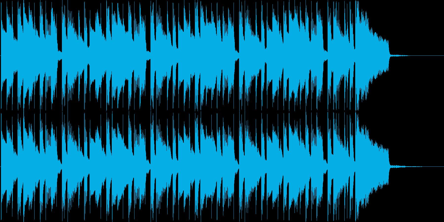 ほのぼのテーマ、オープニングの再生済みの波形