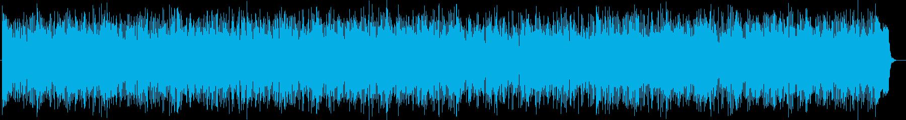 ミステリアスなシンセ・ドラムサウンドの再生済みの波形