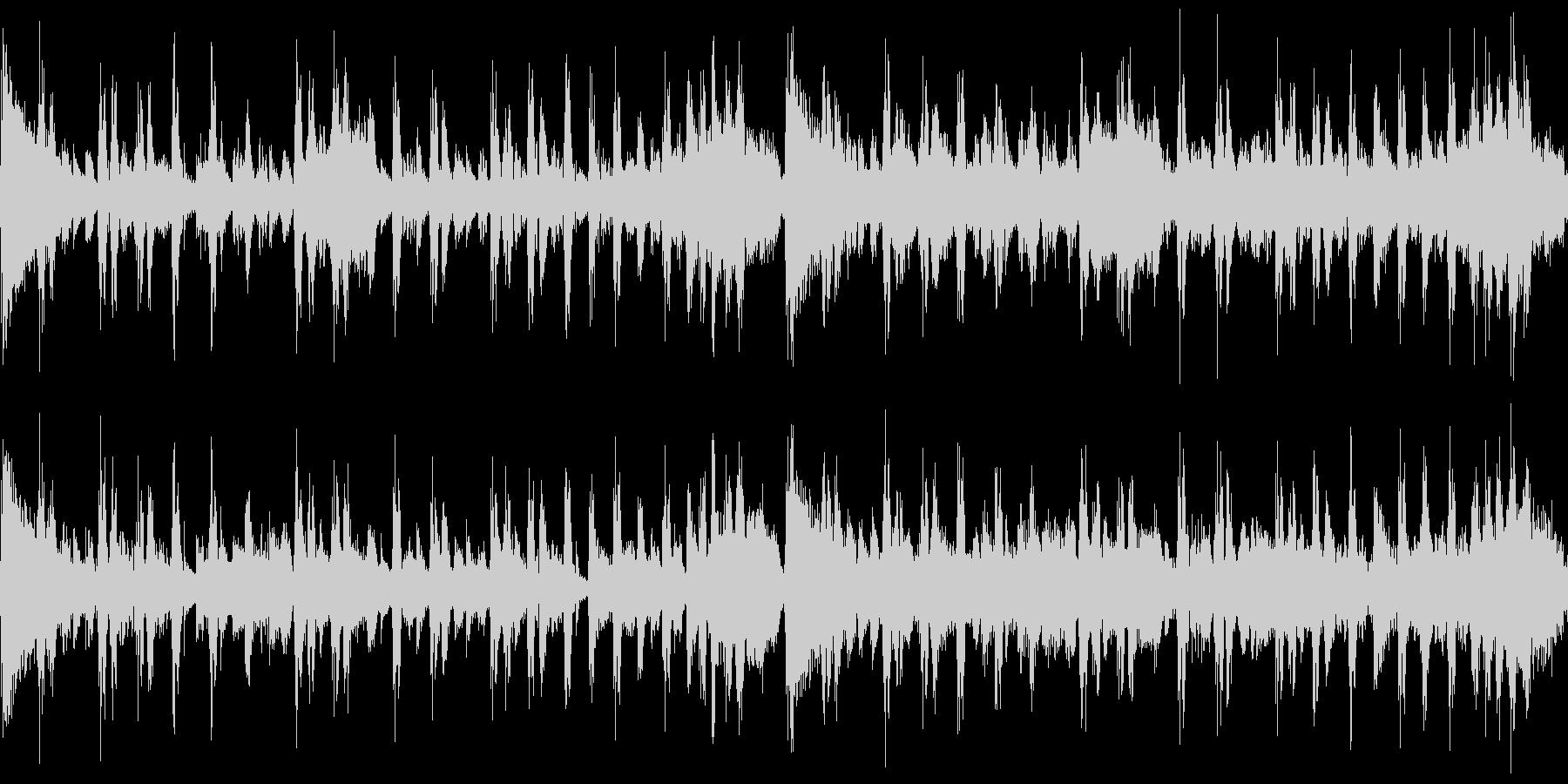 シンキング・タイム(メロ無し&ループ)の未再生の波形
