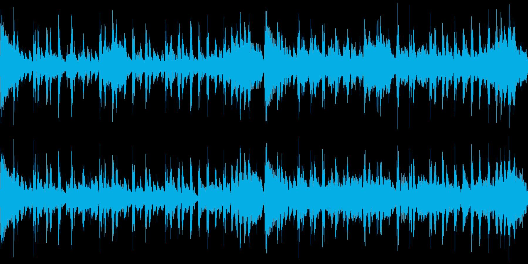 シンキング・タイム(メロ無し&ループ)の再生済みの波形