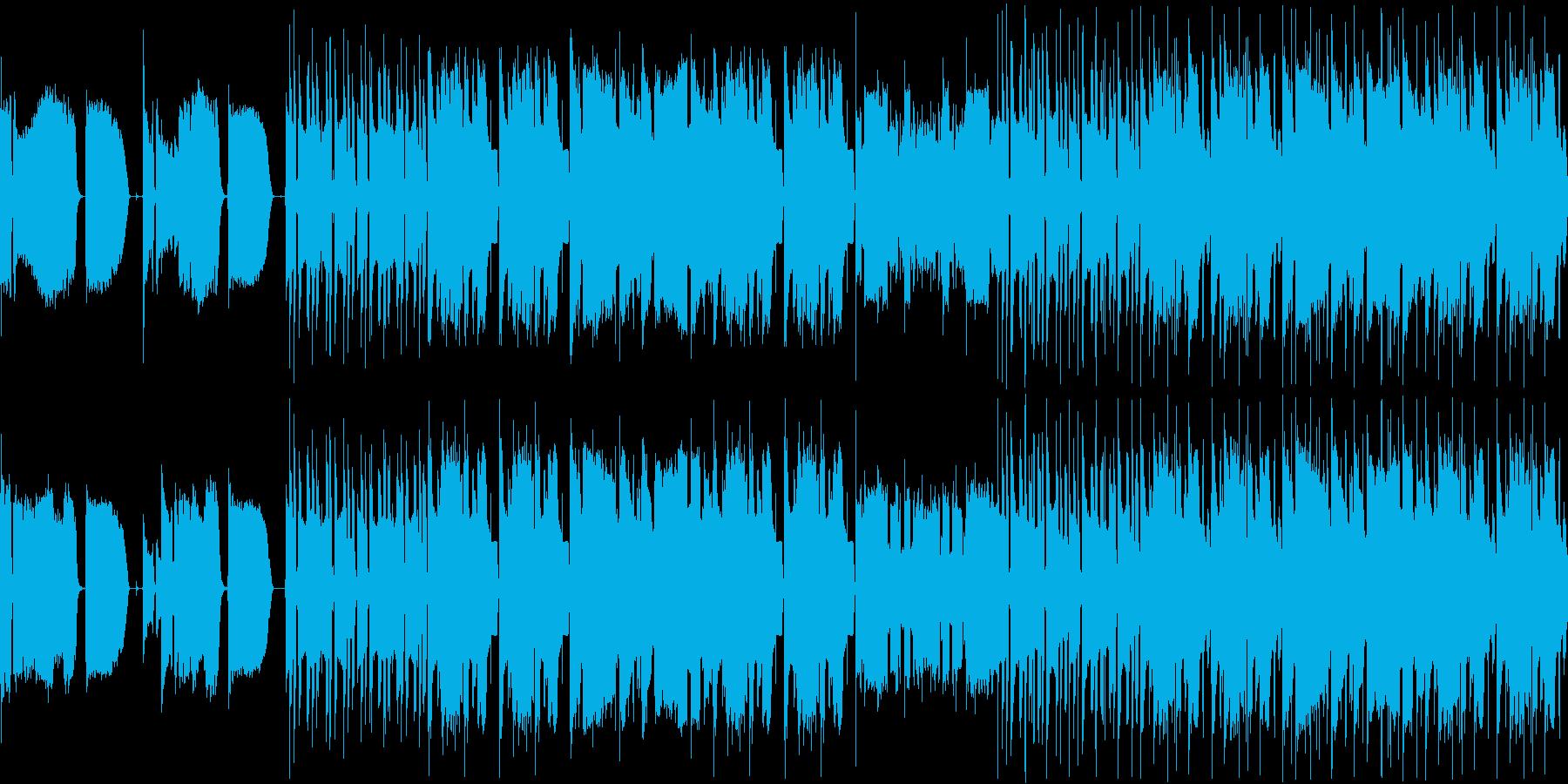 【悲しい雰囲気のスカ】の再生済みの波形