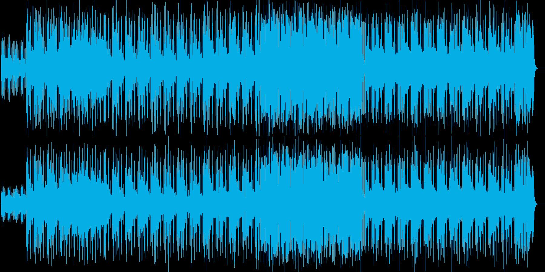 ときめくハッピーなストリングスポップの再生済みの波形