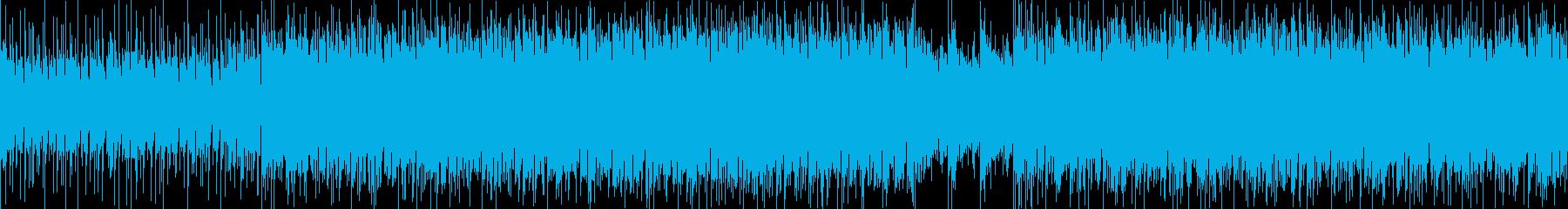 【ループ可】アフリカの草原を彷彿する音楽の再生済みの波形