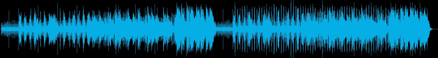 切なく優しいシンセサイザーサウンドの再生済みの波形