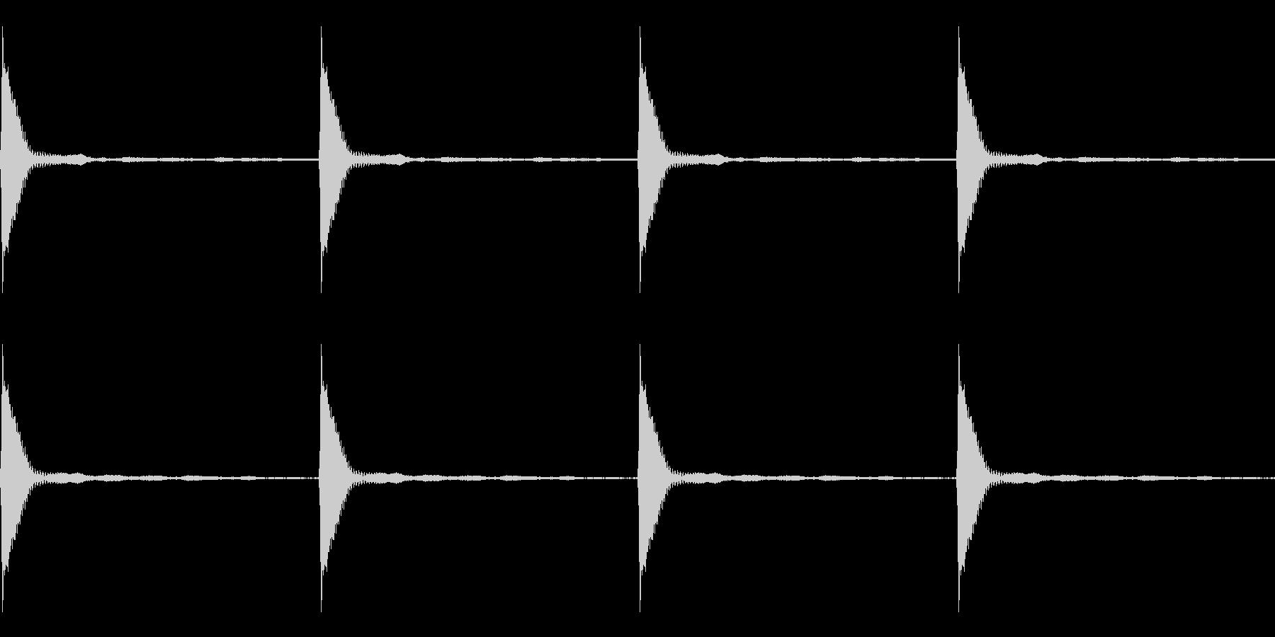Count カウントダウン ループ 1の未再生の波形