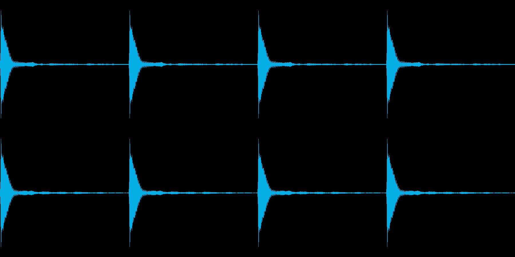 Count カウントダウン ループ 1の再生済みの波形