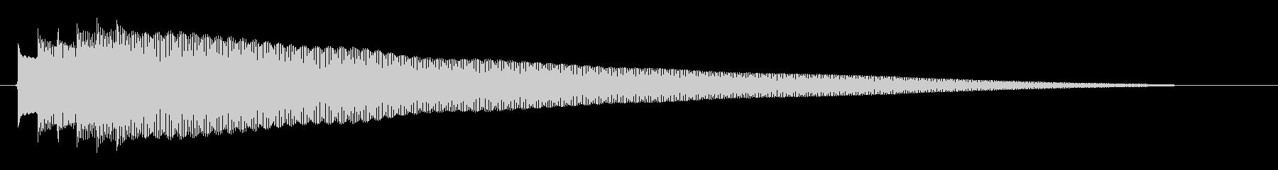 「ピンポンピンポン〜!」クイズに正解し…の未再生の波形