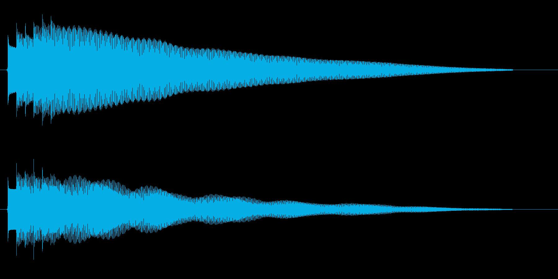 「ピンポンピンポン〜!」クイズに正解し…の再生済みの波形