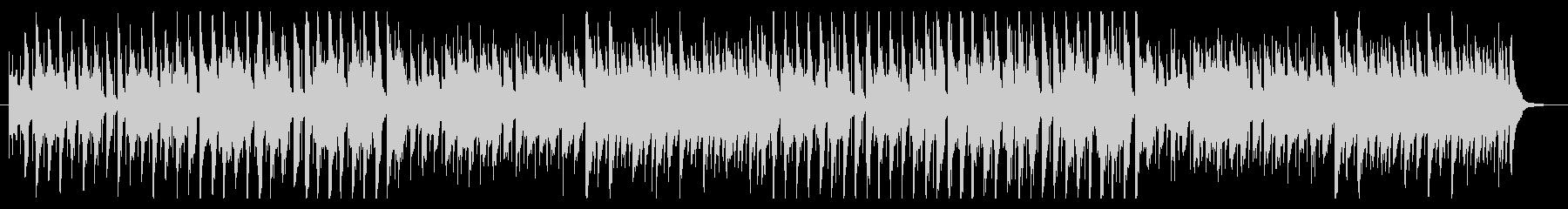 ギャグシーンで流れる曲の未再生の波形