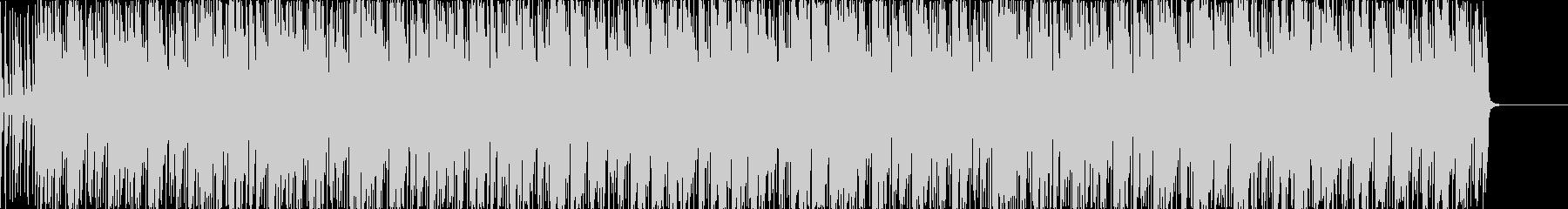 リズミカルなラテン系ポップストランペットの未再生の波形