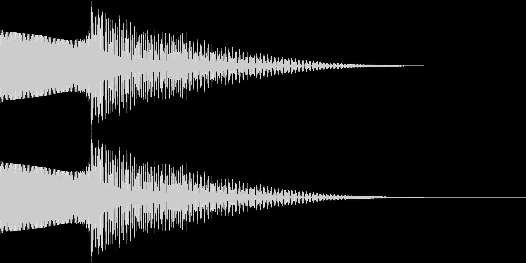 RPG エフェクティブな電子音の未再生の波形