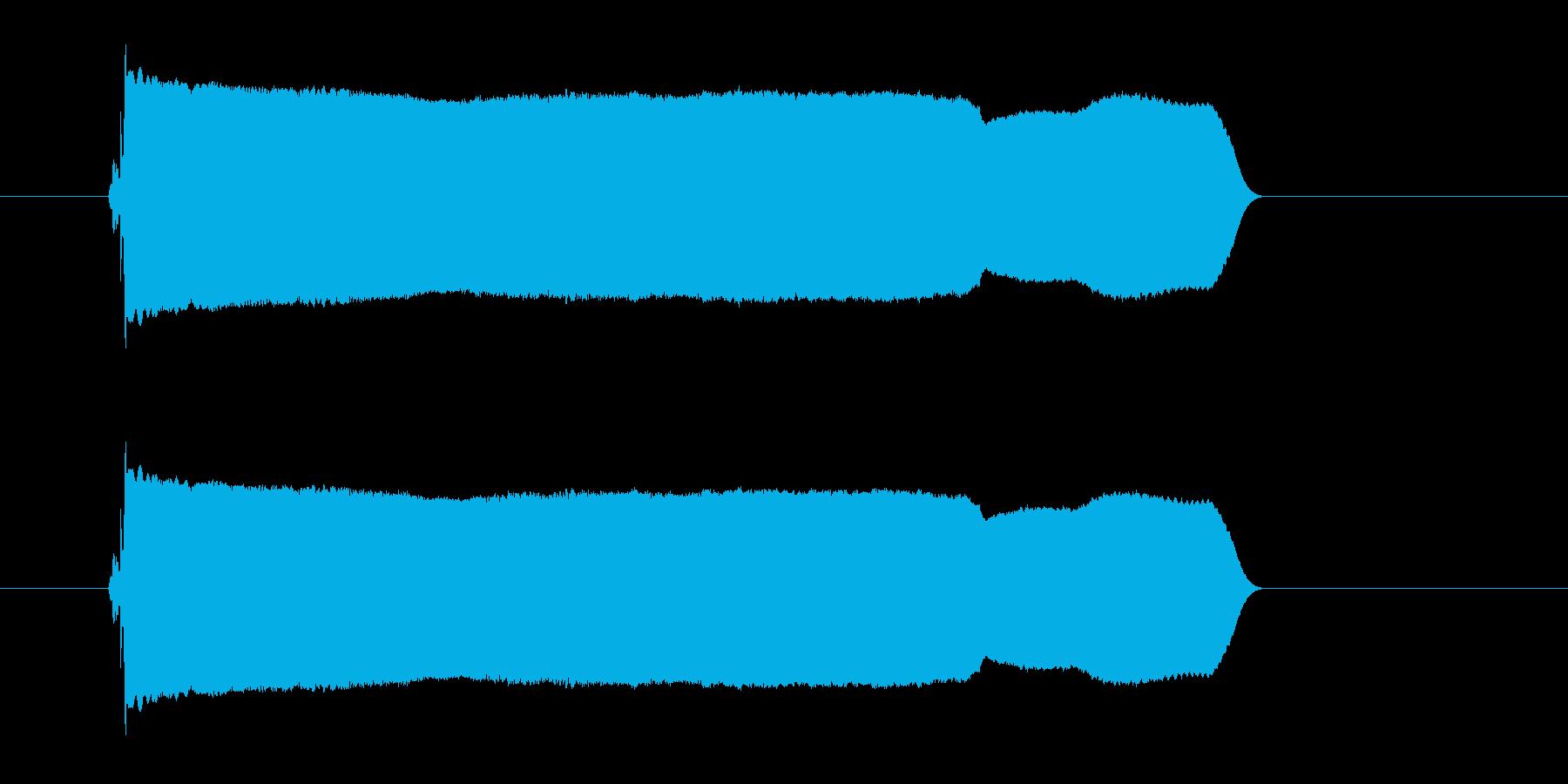 キュイーン(コミカル、長め)の再生済みの波形