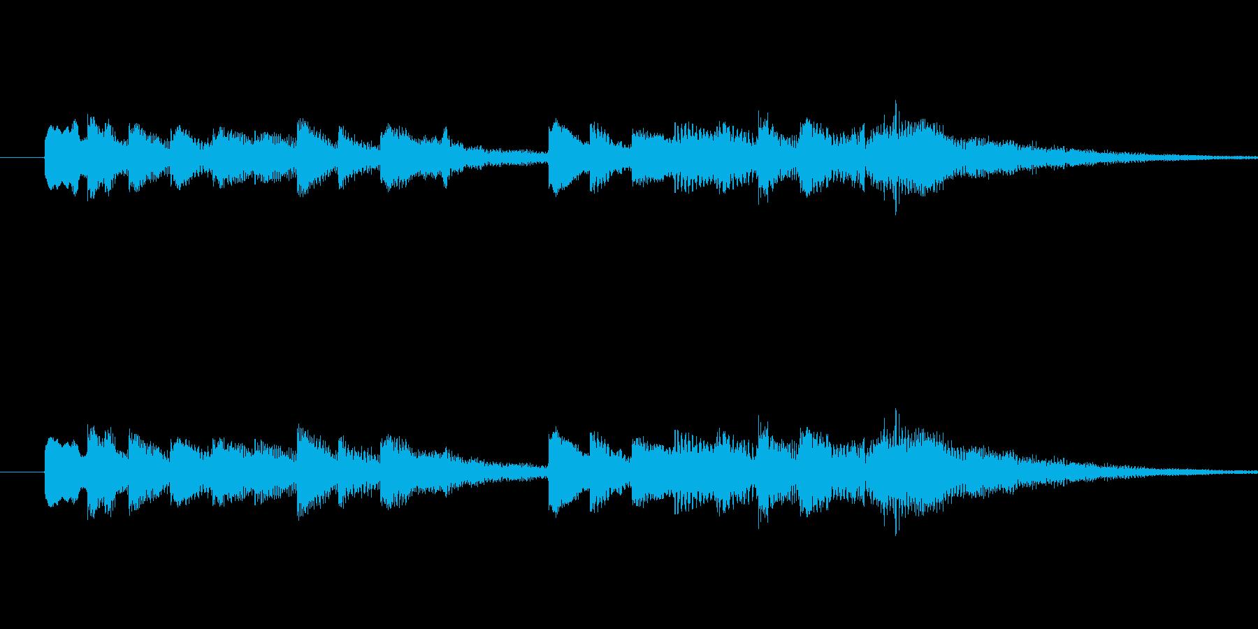 爽やかなオープンベル音 strings…の再生済みの波形