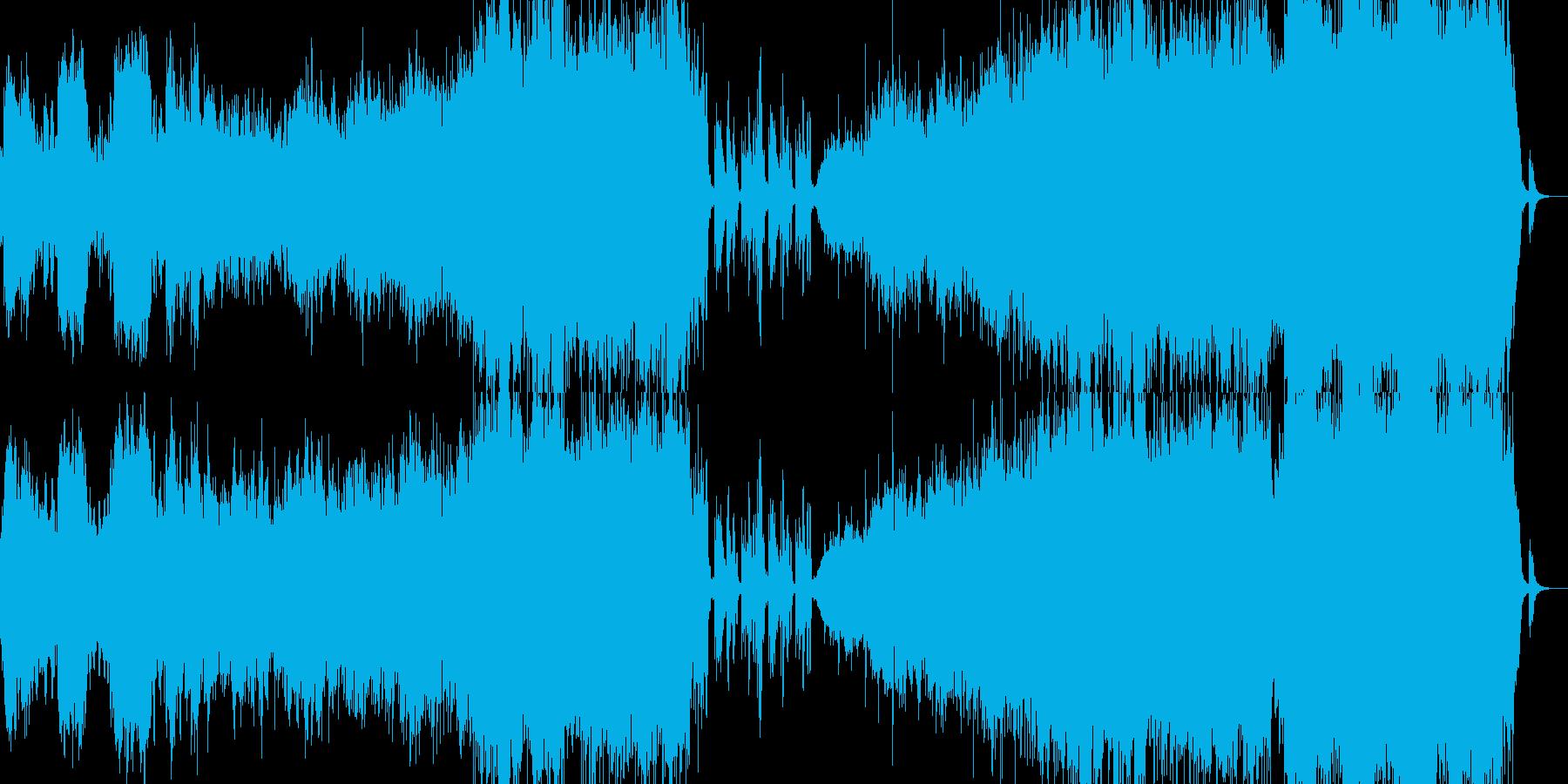 ラブバラード風音楽ーI am loveの再生済みの波形