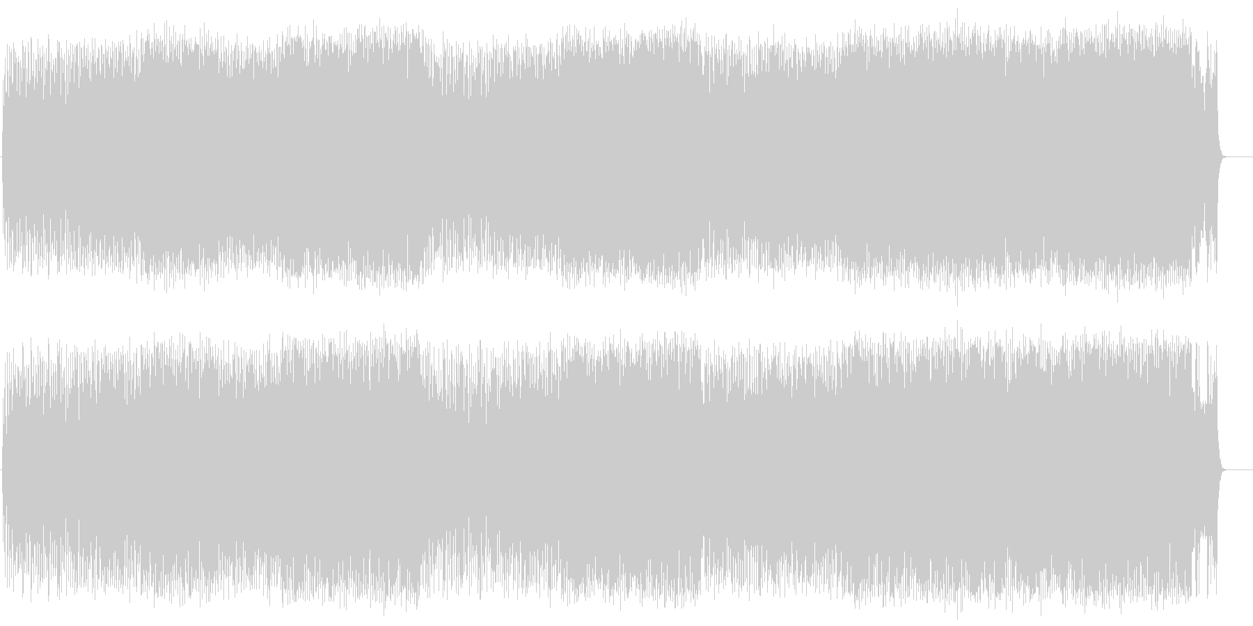 スピード感あるロック/ポップの未再生の波形
